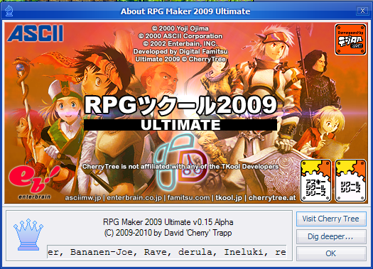 RPG Maker 2009 Ultimate | Cherry Tree